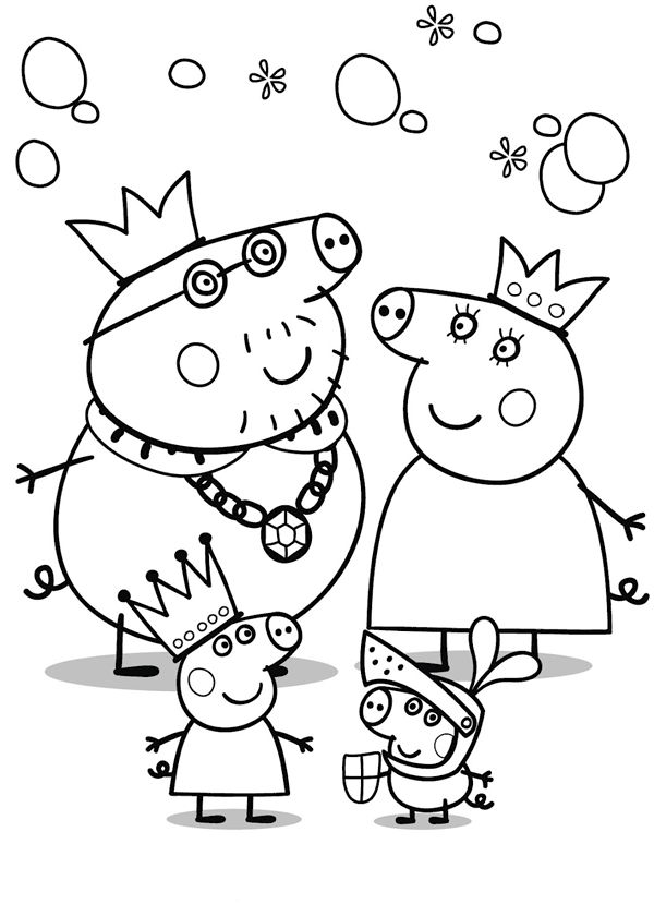 Drawings To Print Peppa Pig Coloringpagespequescuela