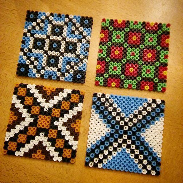hama perler bead designs by villi ingi perler