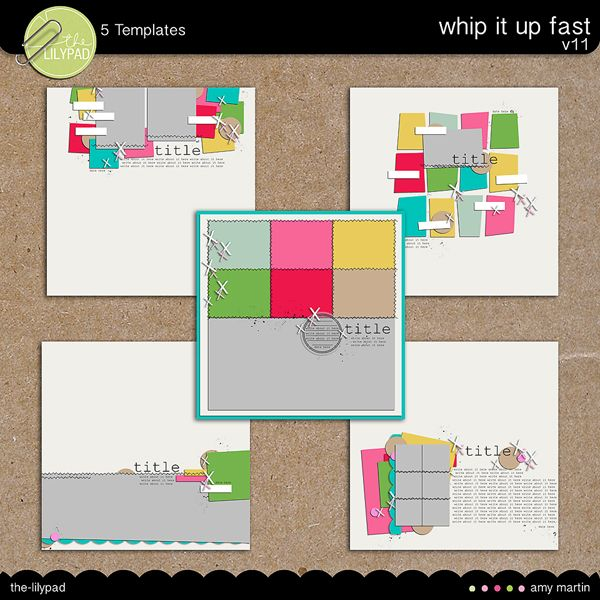Templates: Whip It Up v11