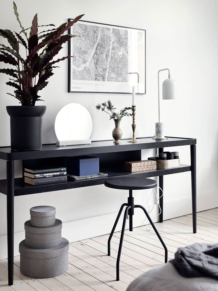 A Black and White Interior Done Right - NordicDesign