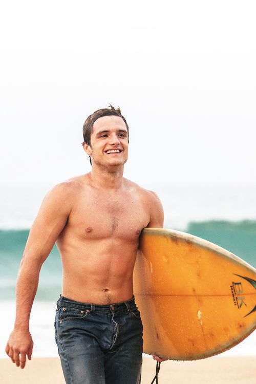"Josh Hutcherson in ""Paradise Lost "" I need to start a board for wet, men..."
