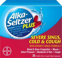 Severe Sinus, Cold & Cough Liquid Gels