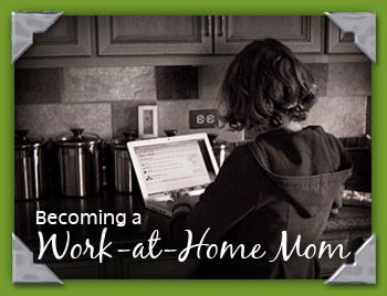 "Becoming a Work-At-Home Mom: My first feeble attempts at this thing called ""blogging"""