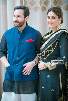 """We are absolutely delighted to be part of the Pristine Estate family and proud to be its brand ambassadors"""" — Kareena and Saif Ali Khan ."""