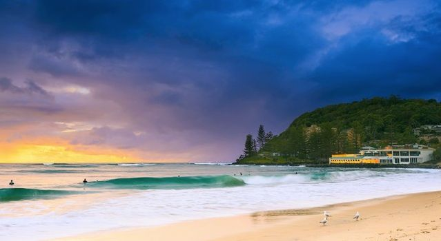 Even on a stormy day, still beautiful #BurleighHeads  Photo by: Pawel Papis Photography