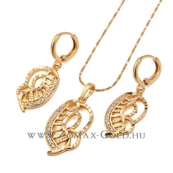 Delinda szett - Zomax Gold divatékszer www.zomax-gold.hu