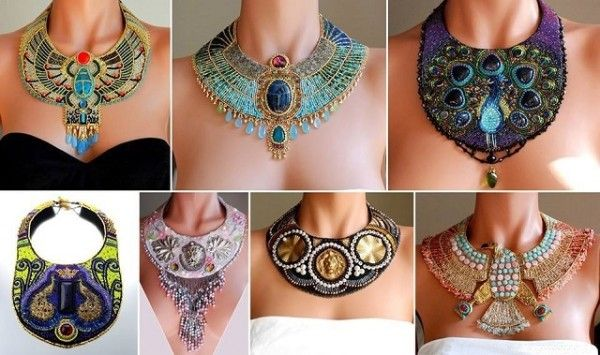 How To Make An Amazing Egyptian Themed Necklaces - Find Fun Art Projects to Do at Home and Arts and Crafts Ideas