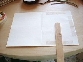 ahh yes, use cards as programs/fan! Easy DIY Wedding Programs Tutorial