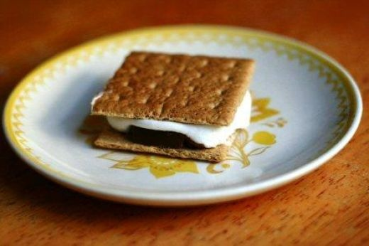Nutella S'Mores---DUH!! (WHY have I been using crappy Hershey's bars ...