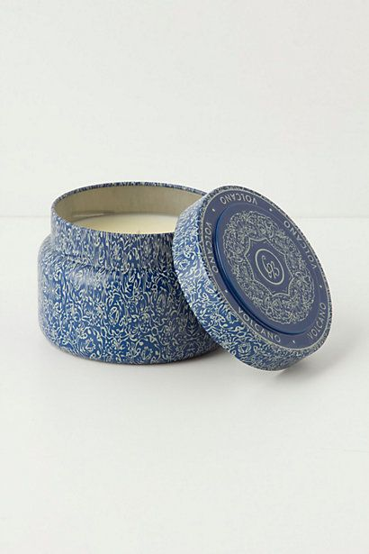 Capri Blue Candle Tin #anthropologie-VOLCANO is the best scent ever!! I go through them like crazy :)