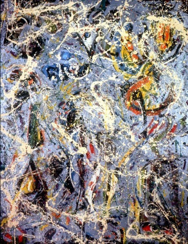 25 best ideas about jackson pollock art on pinterest for Mural jackson pollock
