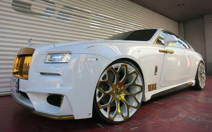 Office-K Rolls-Royce Wraith Is Hella Bling! | automotive99.com