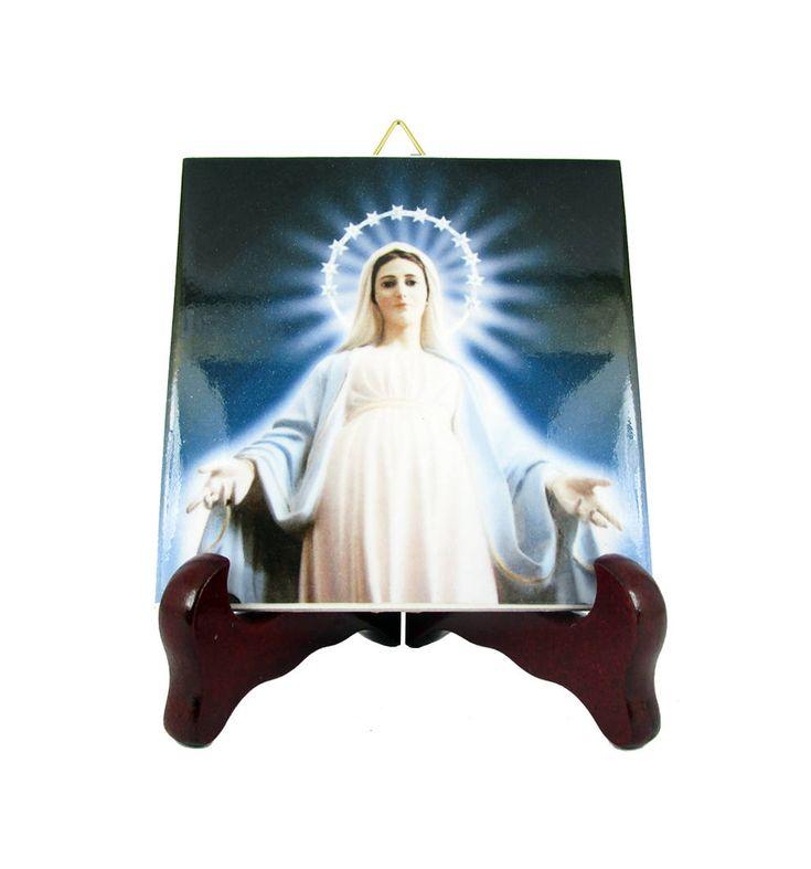 Now on #etsy: Religious icons - Our Lady of Medjugorje - Catholic icon on ceramic tile by @terrytiles2014 #medjugorje #catholicart #christiangift #queenofpeace #virginmaryart #avemaria #pray #mothermary http://etsy.me/2ohyYGJ