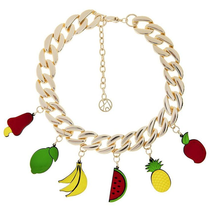 The Fruits Necklace by João Sebastião. Shop it at http://meliestore.com