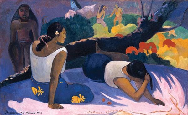 paul gauguin X words of the devil