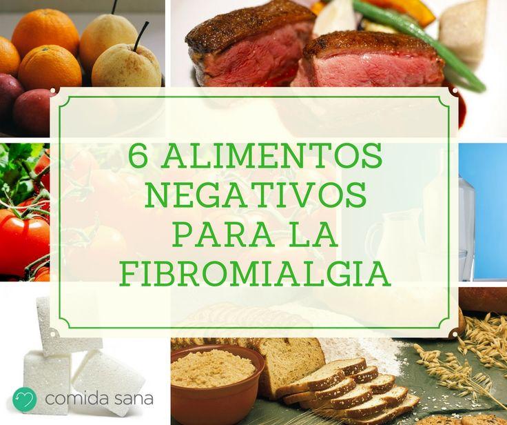 Hay algunos alimentos negativos para nuestra salud en general y para la fibromialgia en particular. Aquí te decimos cuáles son y por qué nos perjudican.