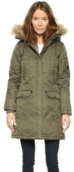 Spiewak Womens Aviation N3-B Faux Fur Parka....I got the same coat at Deb for $25!!