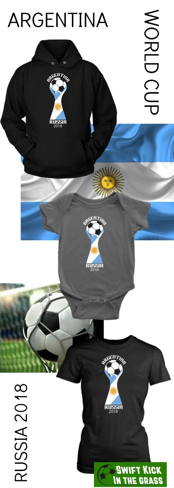 FIFA World Cup Argentina Victory in 2018 Russia. Men's, Women's and Youth Shirts. Rep your team in style. #Argentina #Football #Sports #Futbol #Worldcup #Russia #Russia2018 #Livescore #Fifa #Mls #Freekick #Goals #Goal #Soccer #Cleats #Magista  #Golazos #Bundesliga #Fussball #Lovefootball #September #Sixpack #Instasport #Footballgame #Footballseason #Footballplayer #Footballsunday #Footballer #Soccer #Soccergame #Soccerball #Soccerlife #Soccerplayer #Soccerislife #Soccerteam #Sports