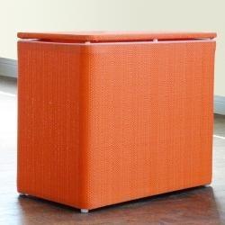 @Overstock - This contemporary hamper will be a bright asset to your laundry or kids room. This convenient furniture can also double as a bench for additional seating.   http://www.overstock.com/Home-Garden/1530-LaMont-Home-Brights-Tangerine-Bench-Hamper/6728671/product.html?CID=214117 Add to cart to see special price