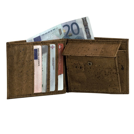Wallet for Men Cool Wallet Made from Cork Best Gift Ideas for Fathers Day from Corkor