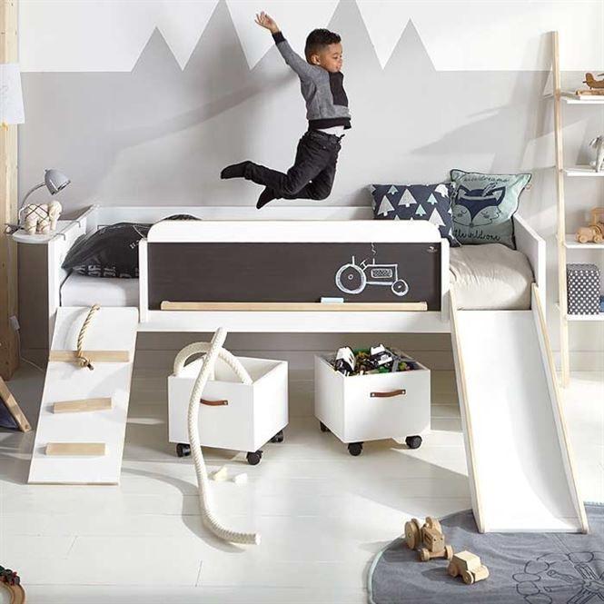 die 25+ besten ideen zu spielbett auf pinterest | kinderbetten ... - Schlafzimmer Mit Spielbereich Eltern Kinder Interieur Idee Ruetemple