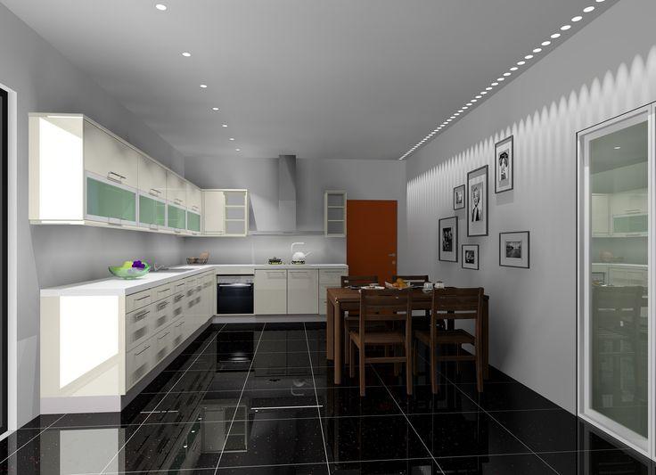 Como simular uma fita de leds no KDMAX, Software de desenho de cozinhas ...