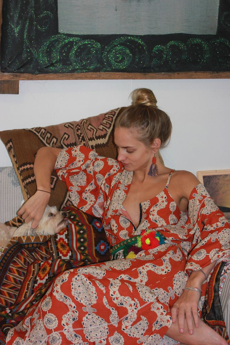 La La Luxes cashbah maxi and casbah kimono