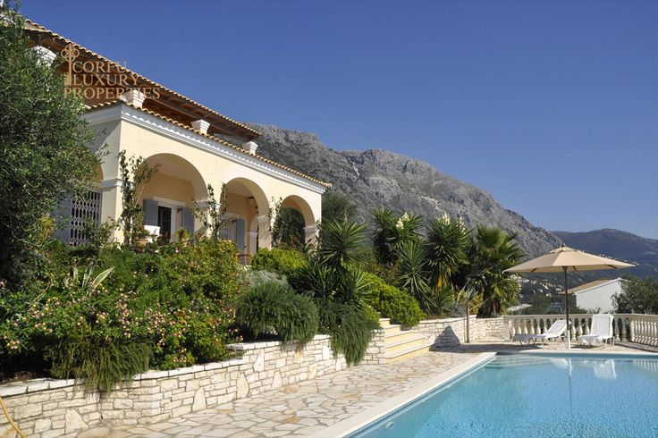 Seafront villa for sale in Barbati, North East Corfu From: http://corfuluxuryproperties.com/property/seafront-villa-for-sale-in-barbati-north-east-corfu
