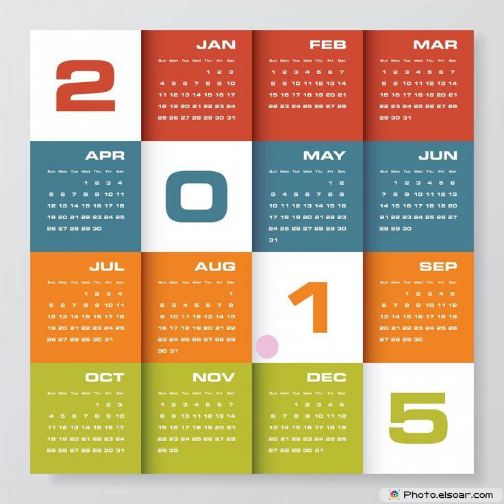 2015 Calendar Designs | Free Calendar Printable
