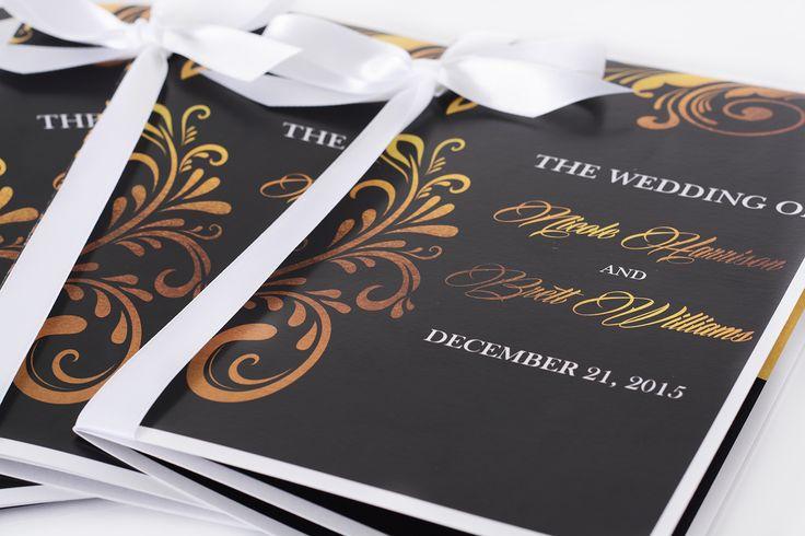 Wedding Booklets - Custom Wedding Stationary   LabelsRus