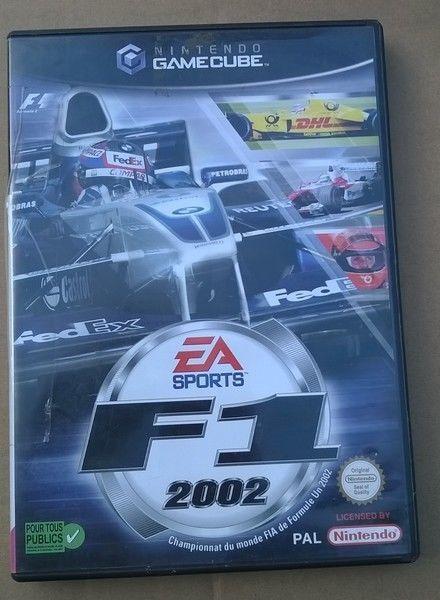 F1 2002 -  GAME CUBE NINTENDO - JEUX VIDEO de Formule 1