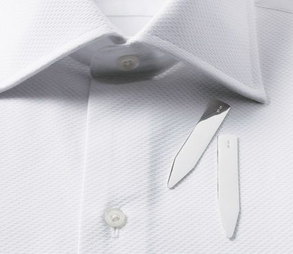Magnetic Collar Stays | How To Keep Dress Shirt Collars In Place #collarstays #accessories