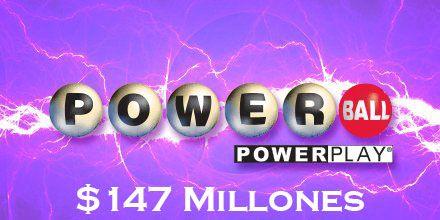 #Powerball tiene un jugoso premio de $147 millones para hoy sábado