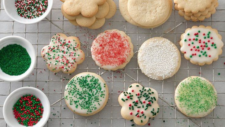 Mmm!  Melt-in-your-mouth sugar cookies.  Enjoy a classic!