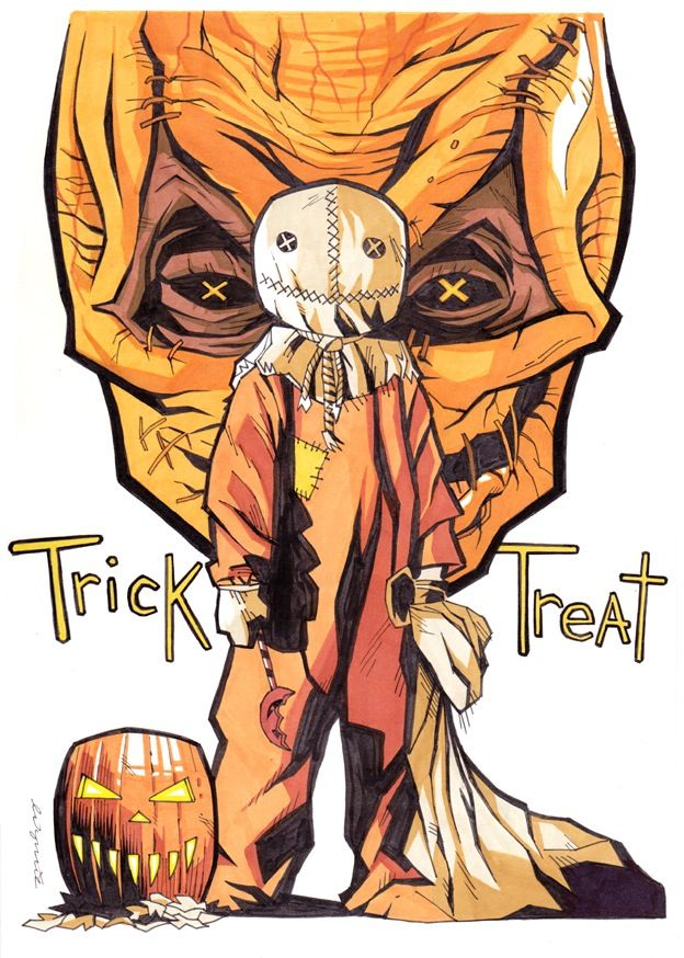 Trick r' Treat's Sam