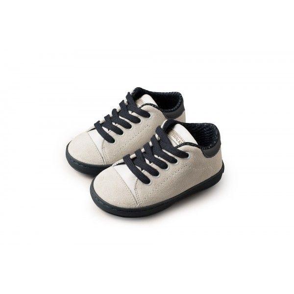 dd0cc83a27f Παπούτσια βαπτιστικά αγόρι BABYWALKER δερμάτινα-μοντέρνα-οικονομικά σε λευκή /μπλε απόχρωση, Βαπτιστικά