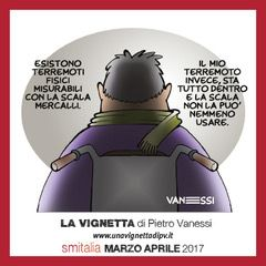 La vignetta di Pietro Vanessi su SM Italia 2/2017  clicca sulla foto per leggere il nuovo numero della rivista anche online