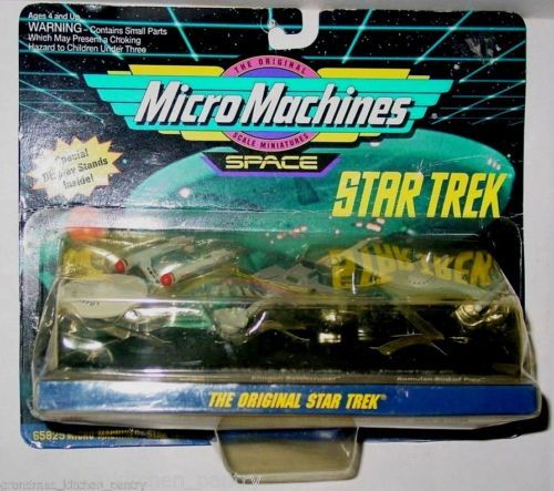1993-Galoob-Micro-Machines-Star-Trek-The-Original-Collection-I-Second-Series-New