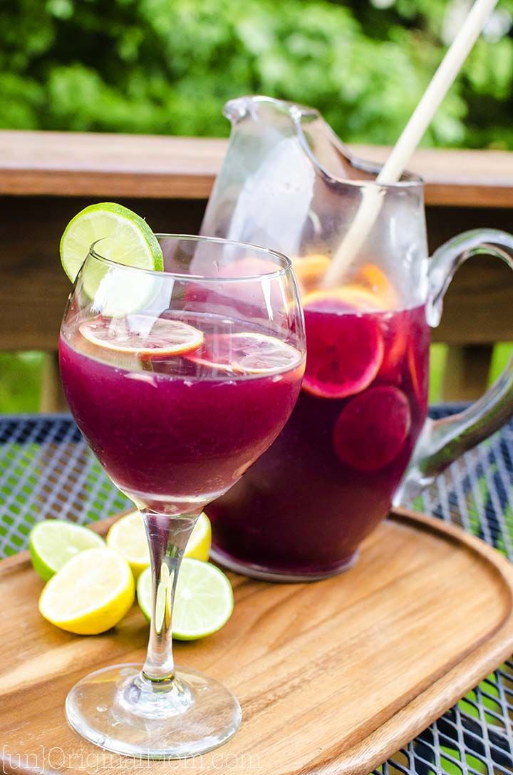 Easy and delicious classic red wine sangria recipe...you and your guests will love this Best Ever Sangria!