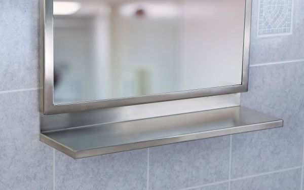 1000 images about bathroom accessories on pinterest Stainless steel framed bathroom mirrors