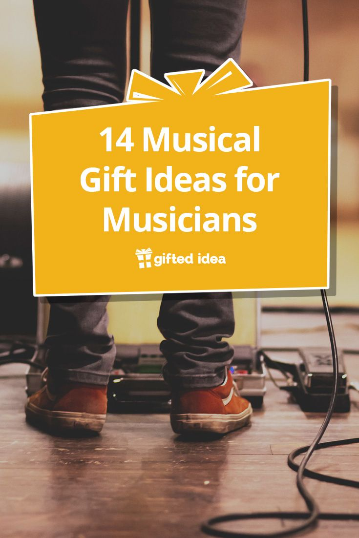 14 Musical Gift Ideas For Musicians Musician Gifts Diy