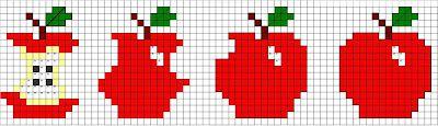 Esquemas da Ricas Prendas; free cross stitch chart; quick to stitch and so cute!