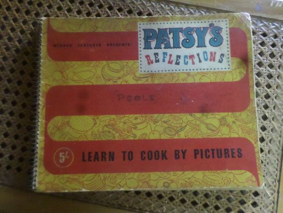 PATSY'S REFLECTIONS  Post War Cook Book In by BookShopBiblioteque, €30.00