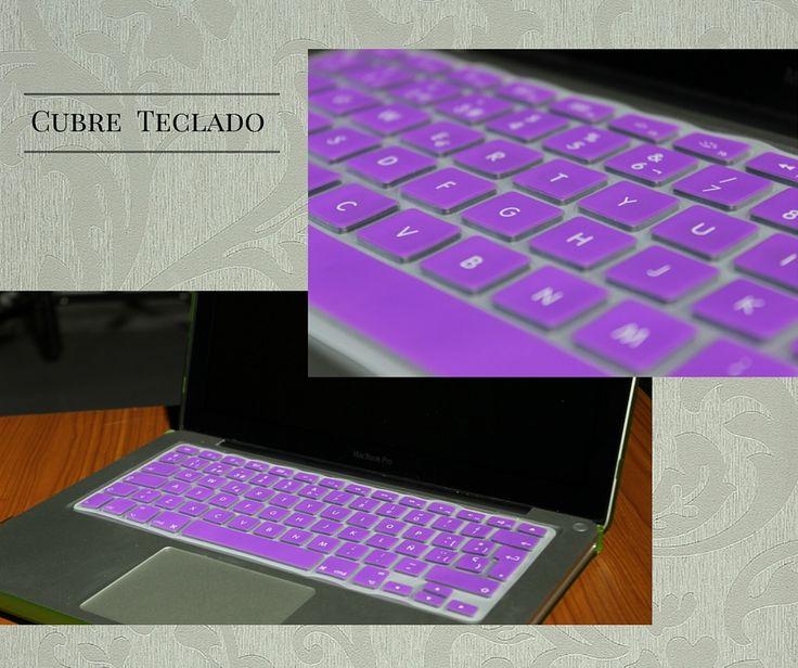 Cubre teclado de silicon para macbook. #morado #brillante #lindo #teclado #macbook #mac #regalo #awwww #bonito #tierno #14feb #valentine #protector #resistente #colores #moda #accesorio #apple #keyboard #accesories #bello #trendy #cute #gift #valentine's #love