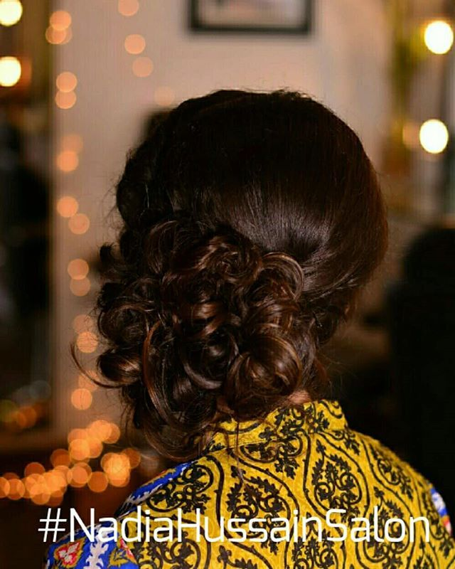 Nadia Hussain : #NadiaHussain Pretty hairdos for pretty girls!!  For appointment call 0300-8253325 #NadiaHussainSalon #weddingseason #weddingdiaries #decembristan
