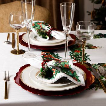 Christmas Table Settings Zara Home And Home On Pinterest