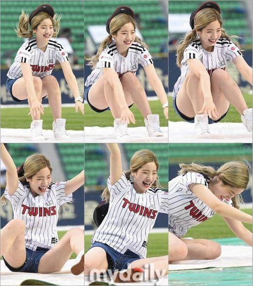 TWICE ダヒョン、野球場でのサプライズが話題に…スライディングセレモニー披露 - ENTERTAINMENT - 韓流・韓国芸能ニュースはKstyle
