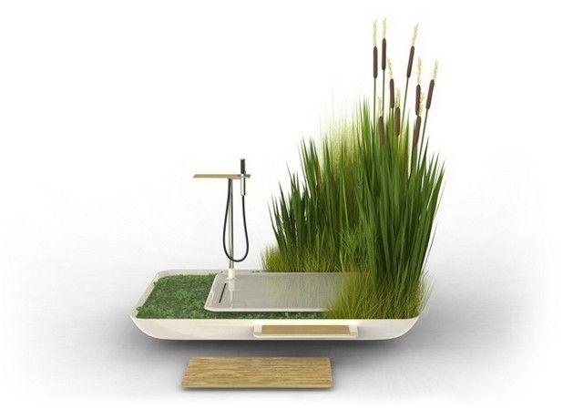 Sustainable shower - I like it!