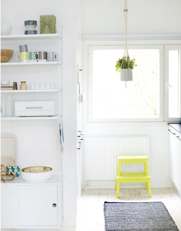Squirrelly Minds » Can you do a kitchen that's 'too white'?