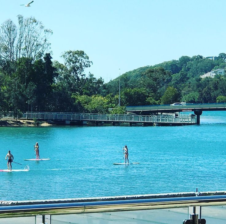 Just another pretty averagely spectacular day on Currumbin Creek at the Currumbin RSL #GoldCoast #currumbinlife #currumbinCreek #CRSL70 #Water #SUP #HiddenGem #ThingsToDoOnTheGoldCoast